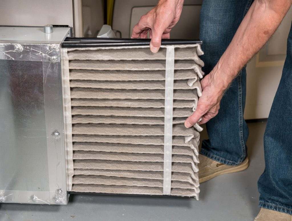 Why you should routinely change furnace filters