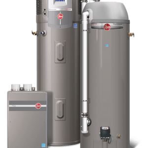 rheem electric hot water system