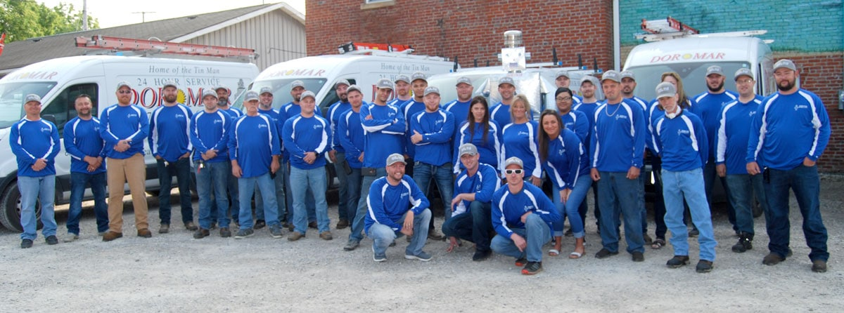 Meet the Dor-Mar Team | Dublin Ohio Professional HVAC service technicians, installers and customer service representatives