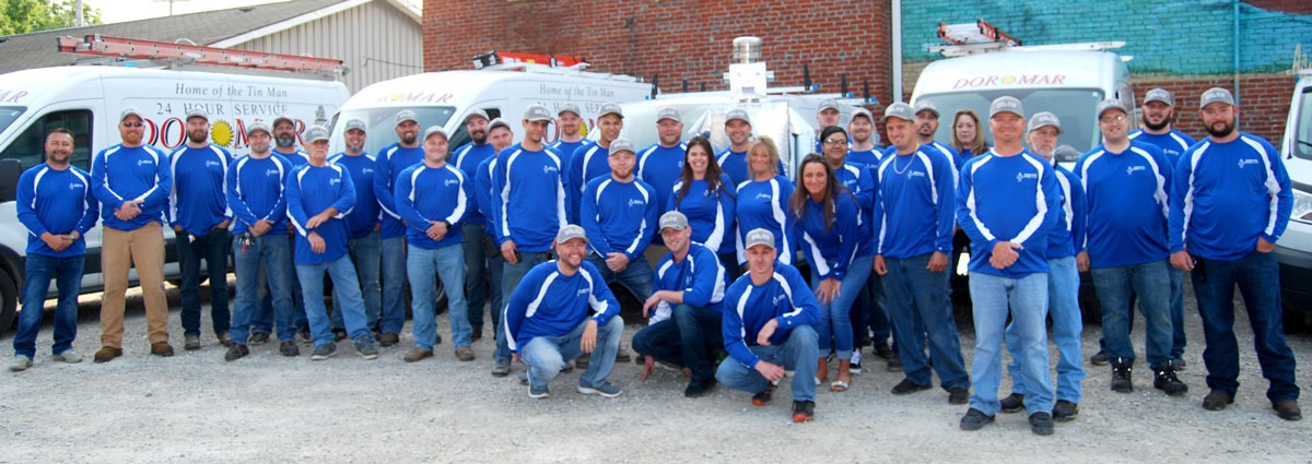 Meet the Dor-Mar Team | Newark Ohio Professional HVAC service technicians, installers and customer service representatives