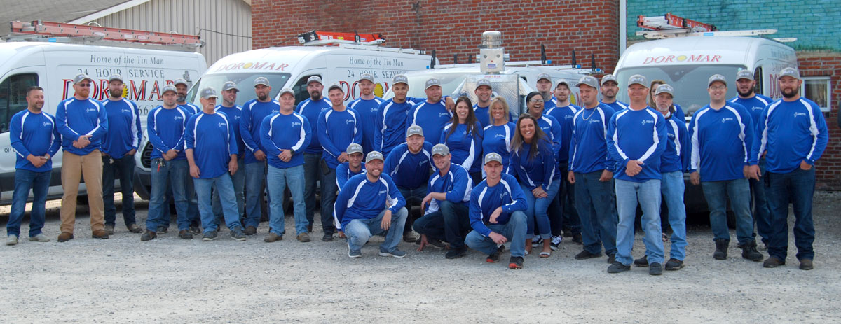 Meet the Dor-Mar Team | Westerville Ohio Professional HVAC service technicians, installers and customer service representatives