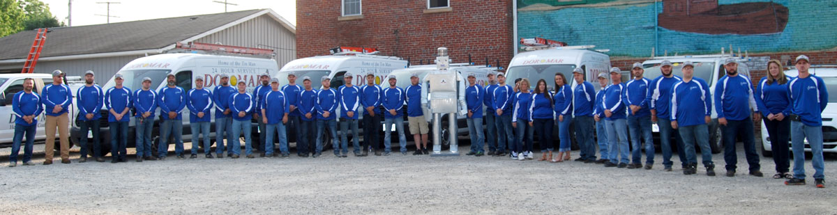Meet the Dor-Mar Team | Zanesville Ohio Professional HVAC service technicians, installers and customer service representatives