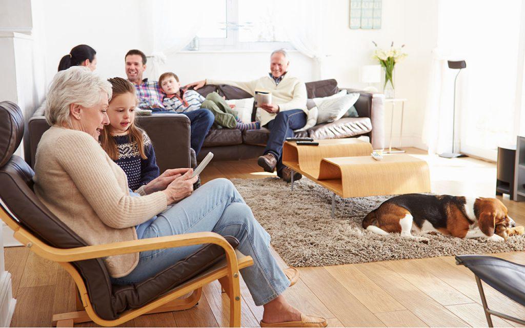Columbus, Ohio family enjoying Dor-Mar Heating & Air Conditioning