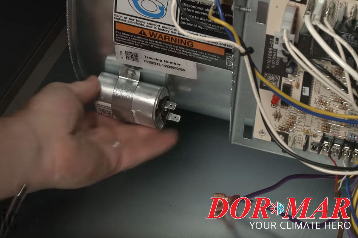 What Is The Capacitor In My Furnace And What Does It Do Dor Mar Heating Air Conditioning