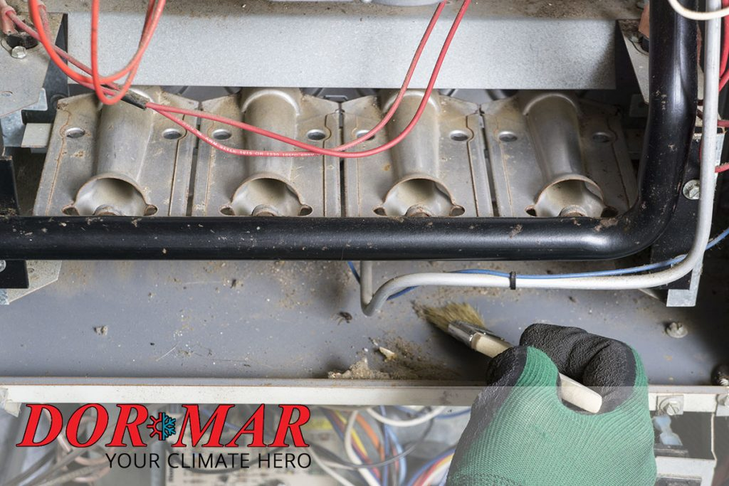 Routine maintenance checklist for gas fired furnaces