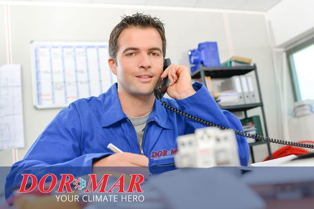 Call Dor-Mar for fast, reliable air conditioning repair