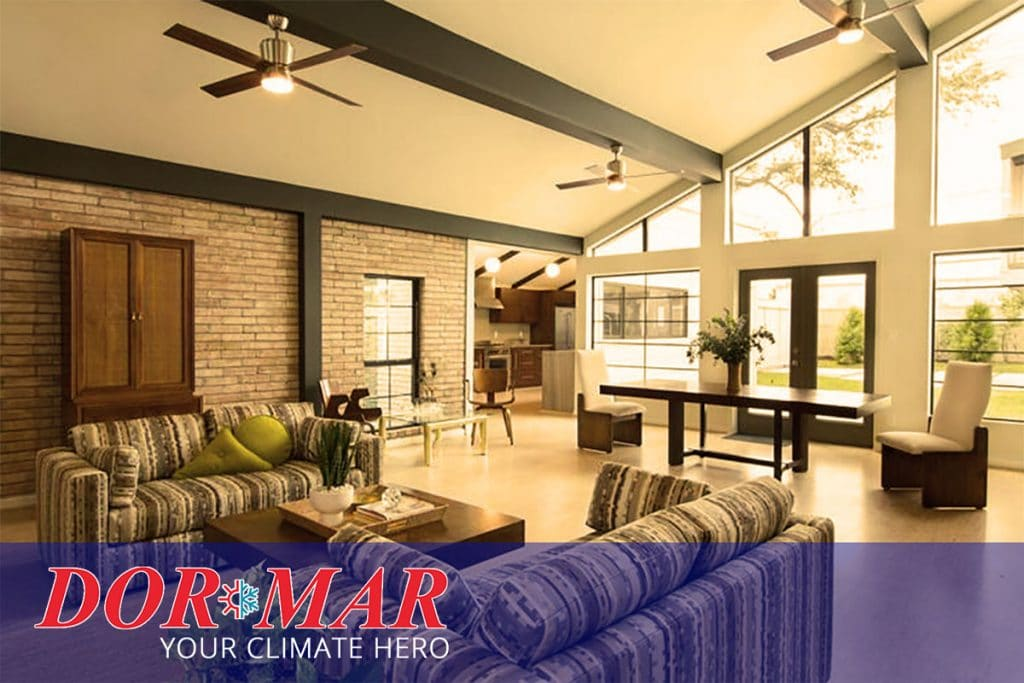 The Pros And Cons Of High Ceilings Hvac Edition Dor Mar Heating Air Conditioning