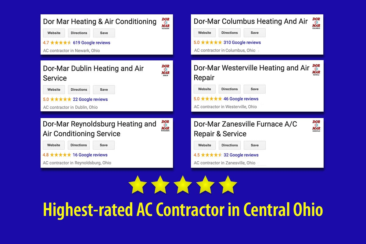 Highest-rated air conditioning contractor