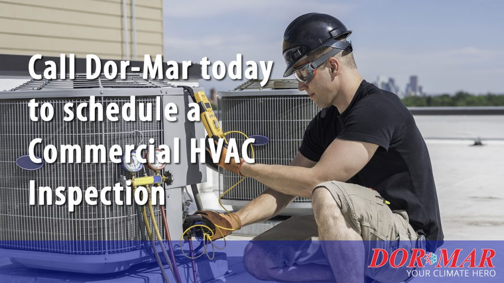 Commercial HVAC Inspection prior to post-COVID startup