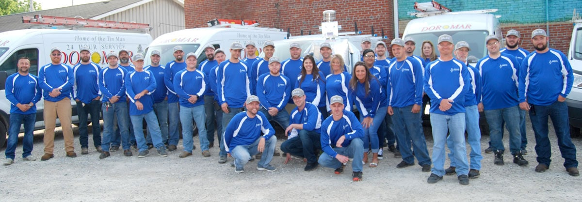 Grandview Heights, Ohio certified professional HVAC technicians and installer.