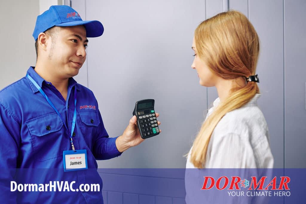 hvac replacement system price estimate