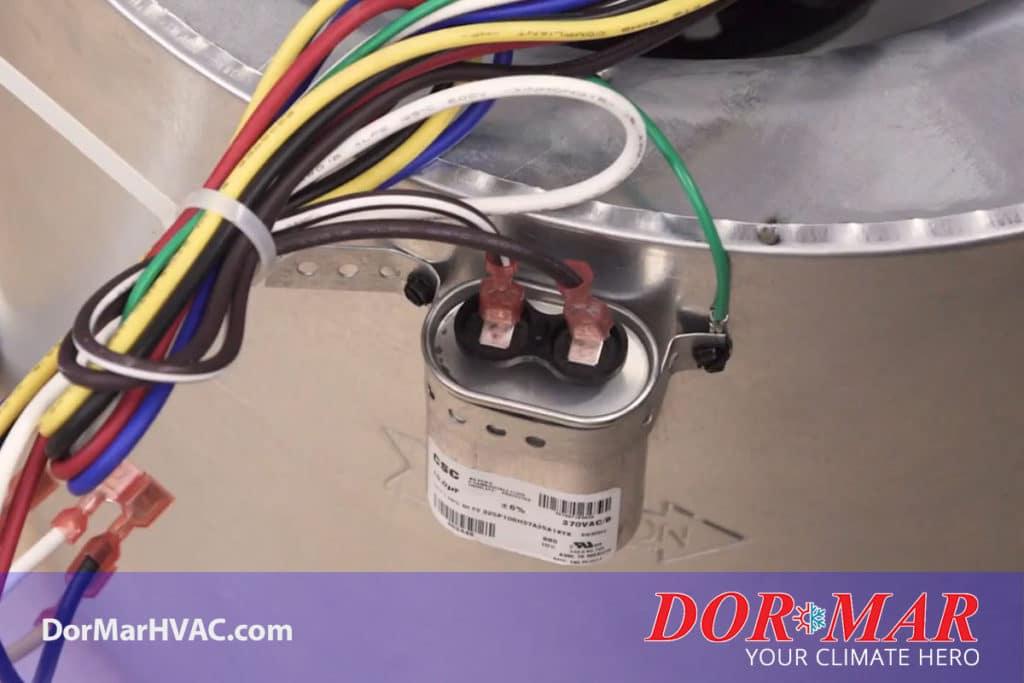 Furnace capacitor in Newark Ohio