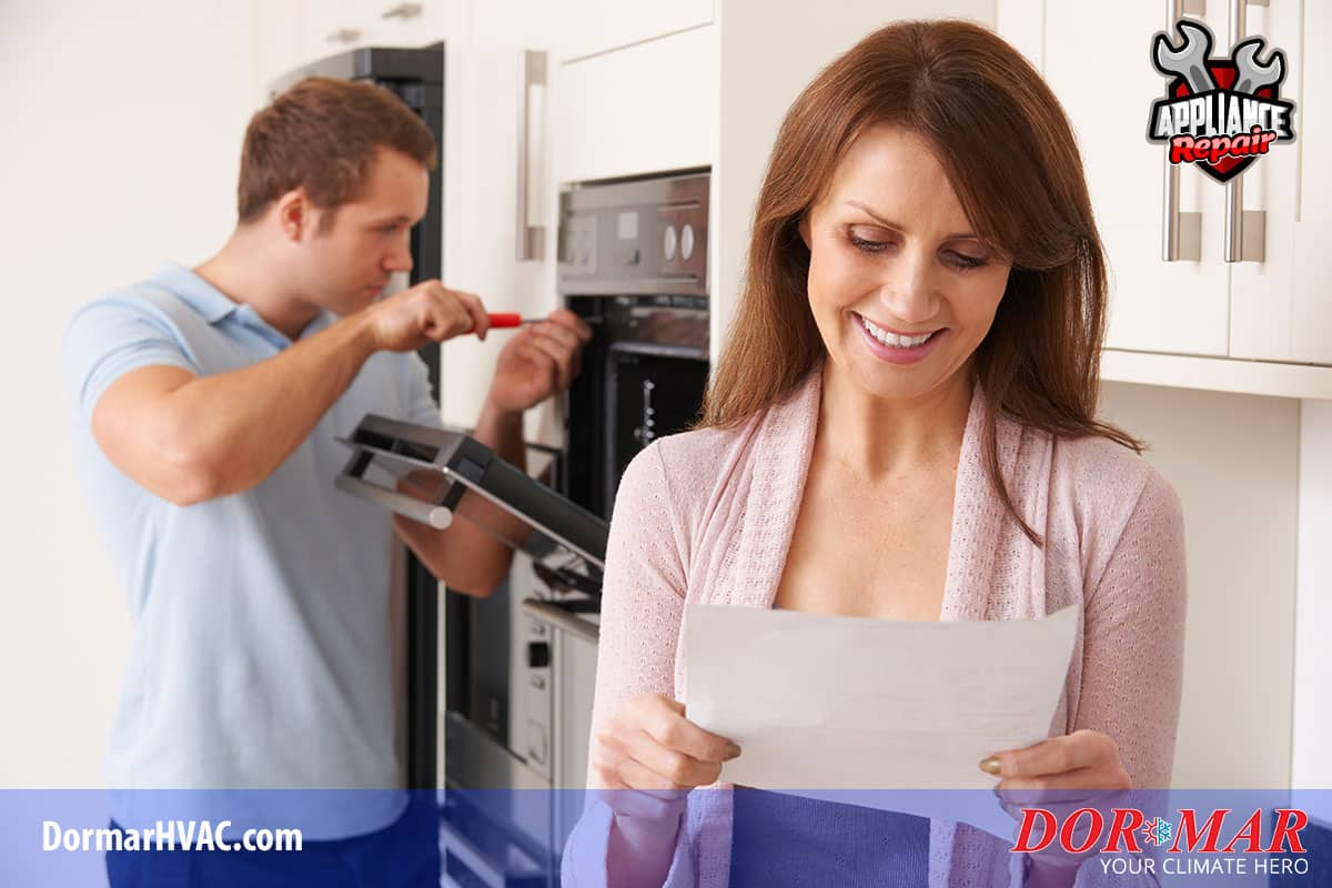 Save with an appliance maintenance agreement