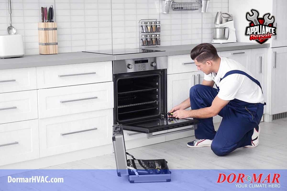 Oven and range repair in Columbus Ohio