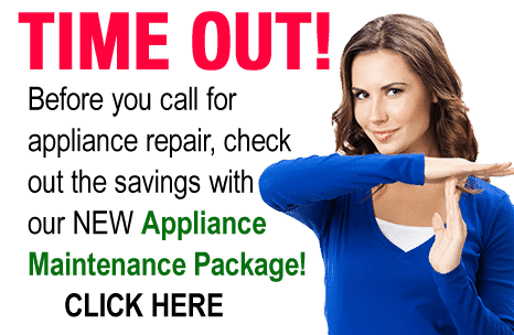 Check out our NEW Appliance Maintenance Package and save