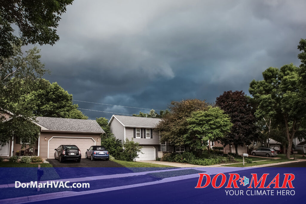 Prepare your home's HVAC for severe storms